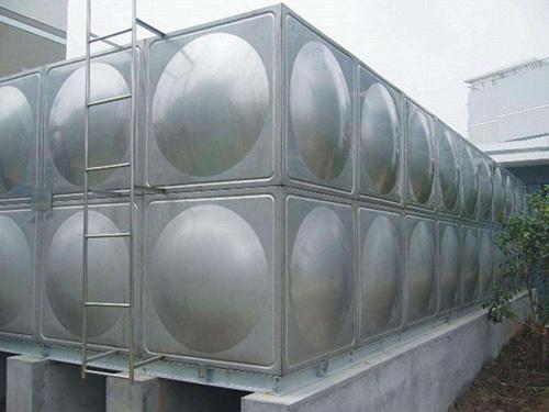 不锈钢组合水箱效果