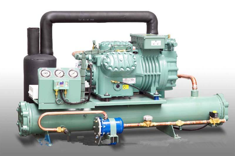 水冷螺杆式制冷机组 比泽尔水冷机组