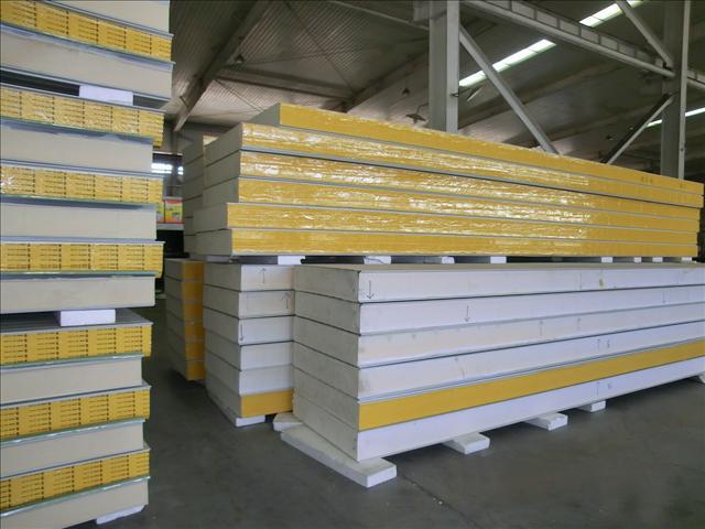 聚氨酯夹芯板 聚氨酯冷库板