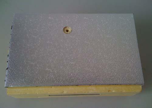 压花铝冷库板 压花铝冷库保温板