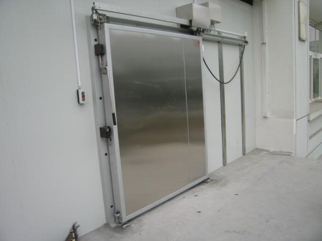 不锈钢冷库平移门 不锈钢电动平移门