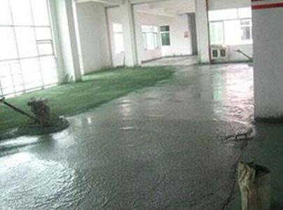 水泥耐磨地坪设计