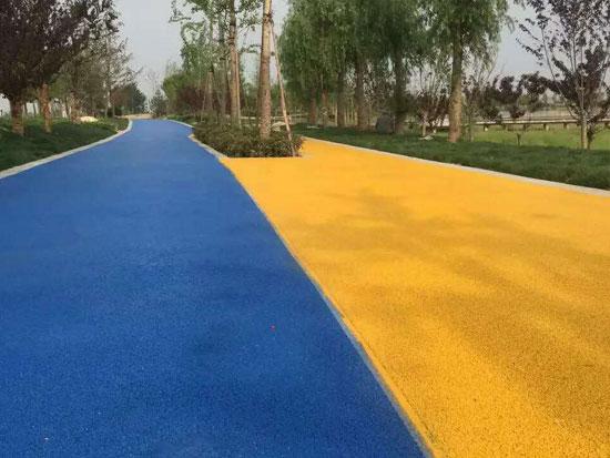 上海彩色透水混凝土地坪