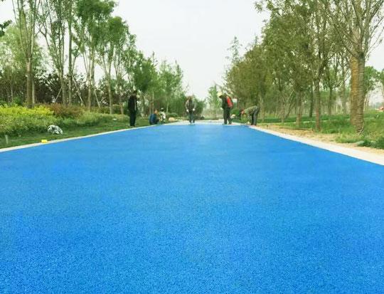 上海彩色透水混凝土地坪价格