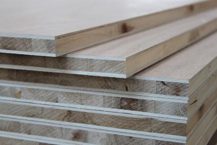 杨木扣槽生态板