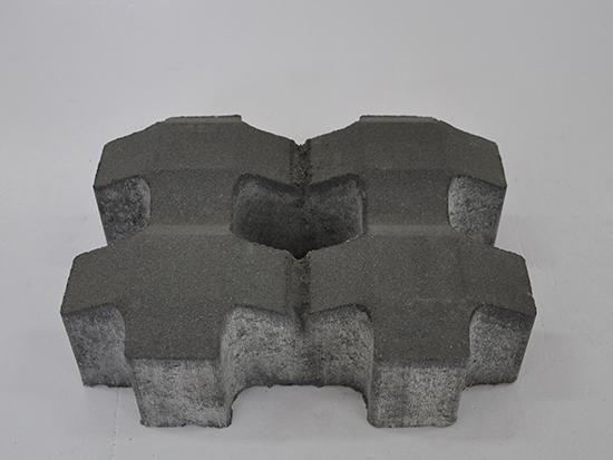 青灰色植草砖