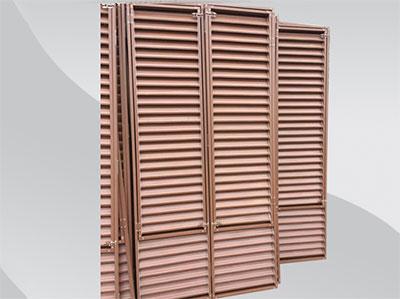 【厂家】锌钢百叶窗优秀就是这么任性 百叶窗都有哪些样式和材质