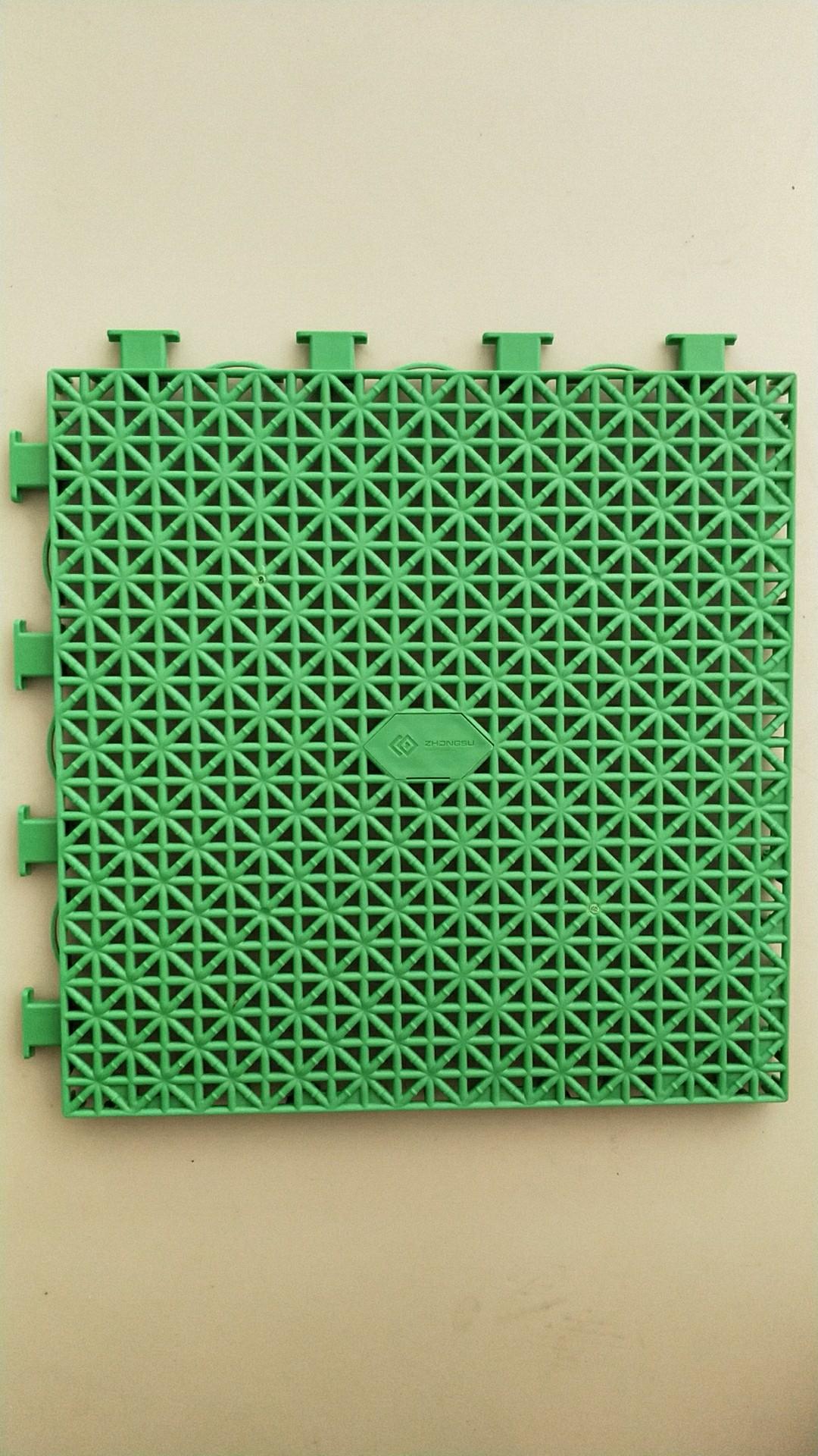 华塑中档悬浮拼装地板