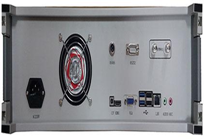 数字视频监控故障监测仪背面