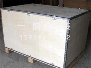 出口钢带包装箱