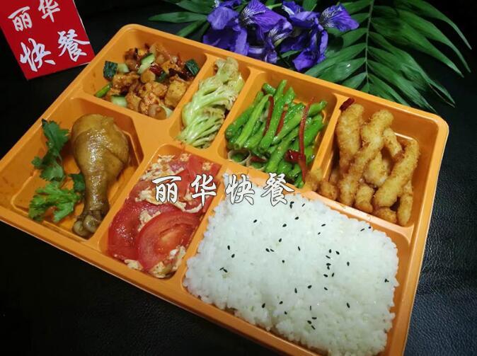 郑州外卖盒饭