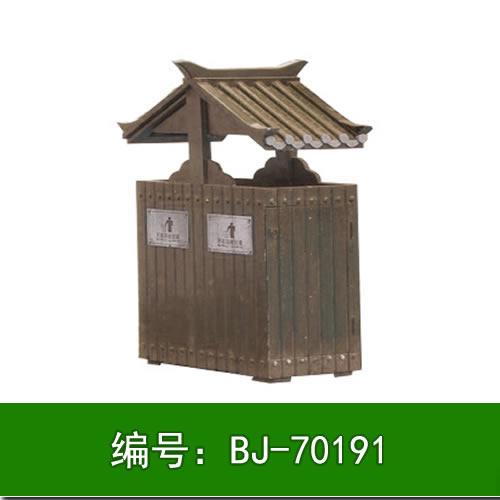 实木垃圾桶订做