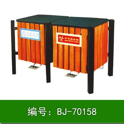 石家庄钢木垃圾箱