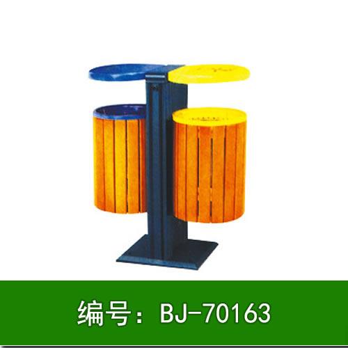 北京钢木垃圾桶定制