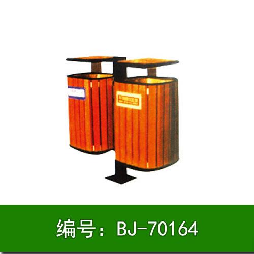 内蒙古钢木垃圾箱