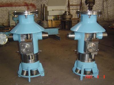 两喷嘴切焦器
