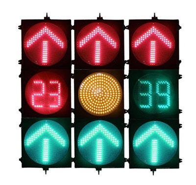 无协议红绿灯与倒计时实时同步控制方法及系统