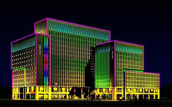 北川楼宇亮化LED显示屏