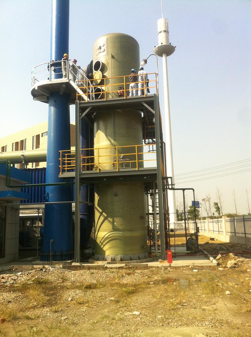 废气净化(含氯气、氯化氢、二氧化硫等)