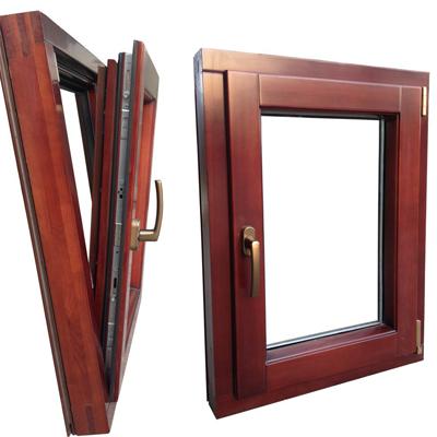 【图片】石家庄铝包木门窗在宁静中绽放 石家庄铝包木门窗适应不同的建筑风格