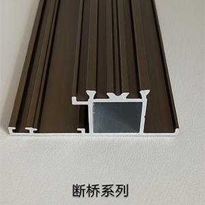 斷橋隔熱門窗型材