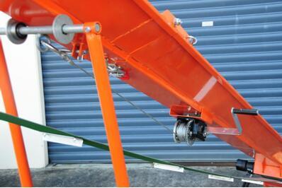 ATV belt conveyor