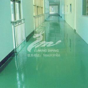 威海�k公�撬�泥自流平地面施工