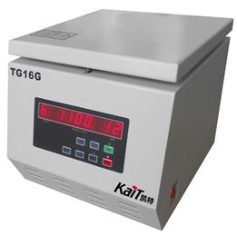 TG18G  TG16G TG16B台式高速离心机