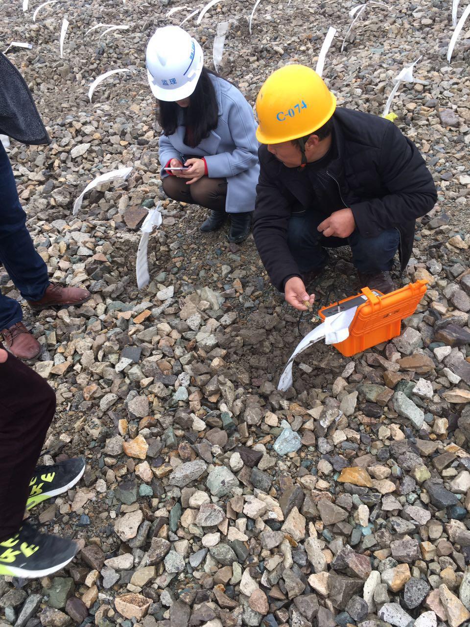 可测深塑料排水板