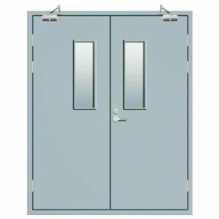 钢制双开净化门