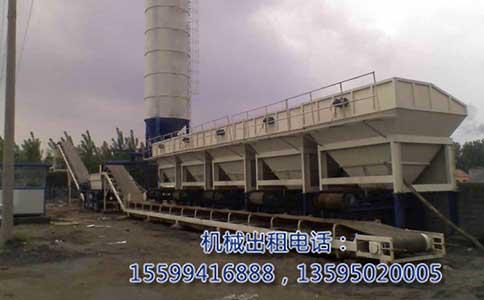 贵州移动式水稳拌合站