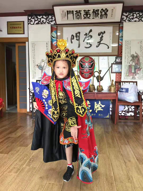 2019年7月芙蓉门川剧变脸表演培训学员