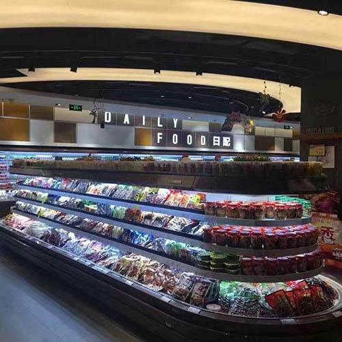 超市环岛立风柜