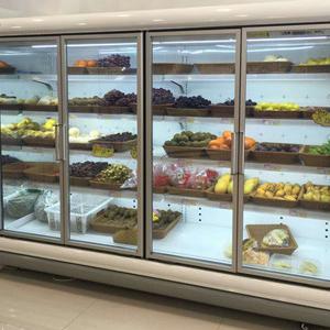 贵州水果风幕柜