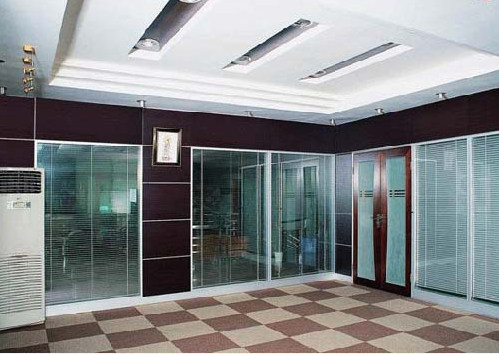 重庆室内玻璃隔断效果图