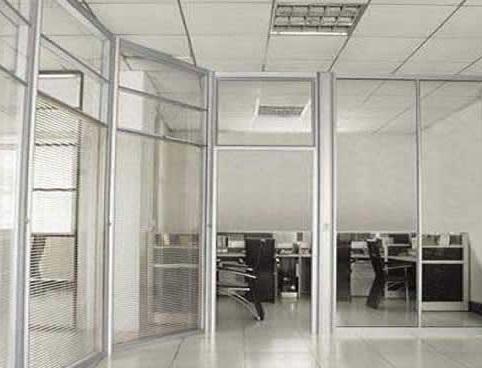重庆单层玻璃高隔间