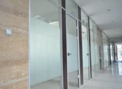 重庆磨砂玻璃隔断