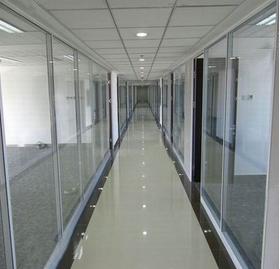 玻璃隔墙木门