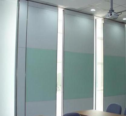 重庆办公双玻带框隔墙