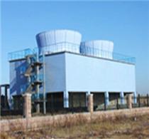 玻璃钢混凝土结构冷却塔