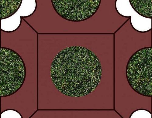 河南生态植草砖