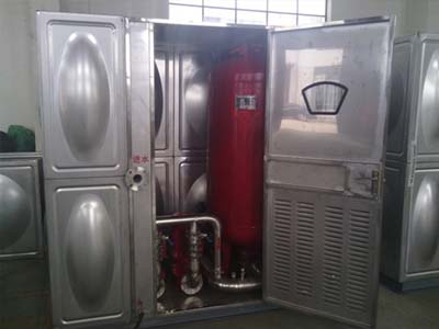 消防箱泵一体化