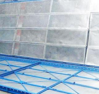 镀锌板爬架网片