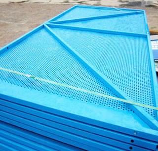 低碳钢爬架网片