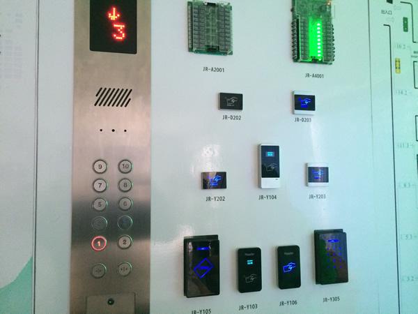 电梯梯控系统