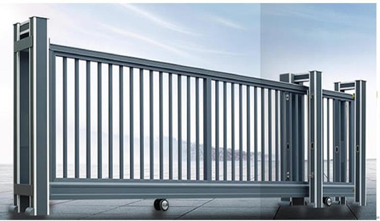 石家庄停车场管理系统电动伸缩门是一个企业的脸面 伸缩门特点和未来的发展趋势预测
