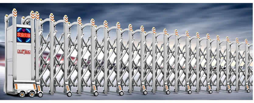 【图文】分享选购方法_铝合金电动门如今在建筑中应用广泛