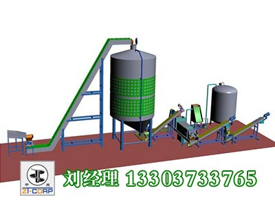 果蔬榨汁生产线