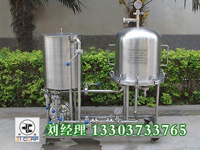 ZTP40-10水平圆盘硅藻土过滤机