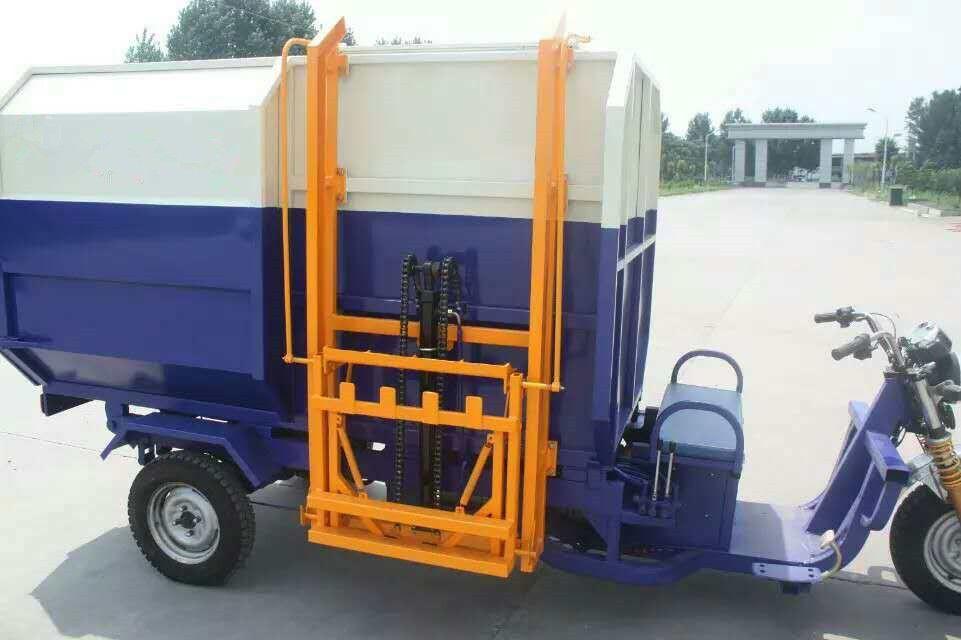 电动挂桶垃圾车优点